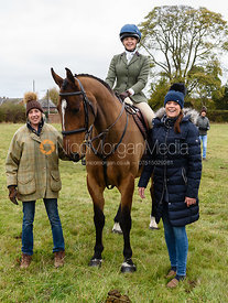 Hannah Spray, Kate Willett at Belvoir Hunt Opening Meet 2018