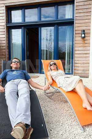 photo: couple en vacances