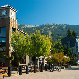 Whistler Village Summer photos