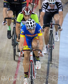 Cat 4 Men Points Race. Track Ontario Cup #2, January 13, 2019