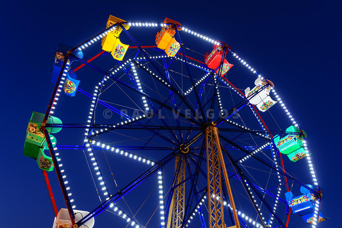 Newport Beach Balboa Fun Zone Ferris Wheel Photo