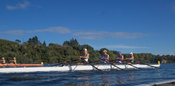 Taken during the World Masters Games - Rowing, Lake Karapiro, Cambridge, New Zealand; ©  Rob Bristow; Frame 1350 - Taken on: ...