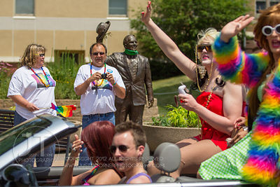 Iowa City Gay Pride Parade, June 16th, 2012