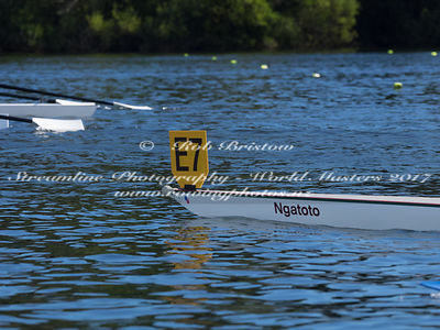 Taken during the World Masters Games - Rowing, Lake Karapiro, Cambridge, New Zealand; ©  Rob Bristow; Frame 383 - Taken on: T...