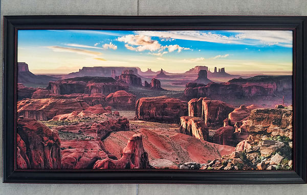 Afternoon Light at Hunt's Mesa 24x48