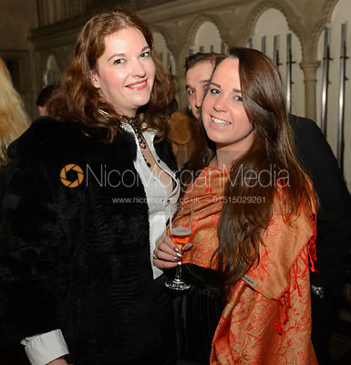 Rebecca Waterhouse - The BHSC Cocktail Party at Belvoir Castle, 11th March 2017