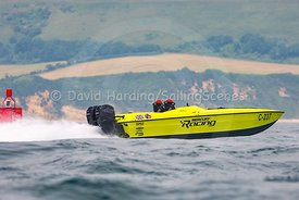 Mercury Racing, C-237, competing in the Fortitudo Poole Bay 100 Offshore Powerboat Race, 10th June 2018, 20180610097