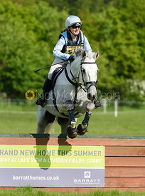 Jane Vernon and B, Fairfax & Favor Rockingham Horse Trials 2018