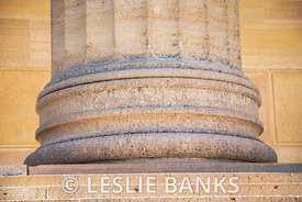 Column Base at Philadelphia Art Museum