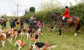 John Holliday at Belvoir Hunt Opening Meet 2018