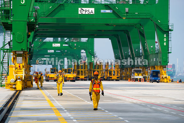 PSA new container port, Phases 3&4, Pasir Panjang