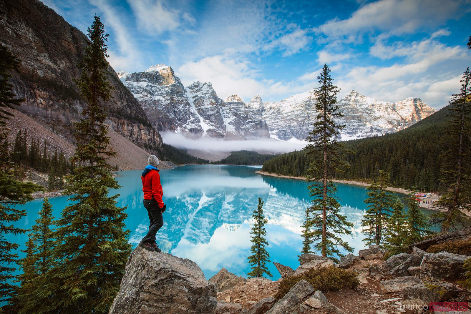 Most-Photographed Moraine Lake - Canada - World for Travel