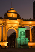 The Neoclassical Unknown Soldier Monument, Alexandria, Egypt