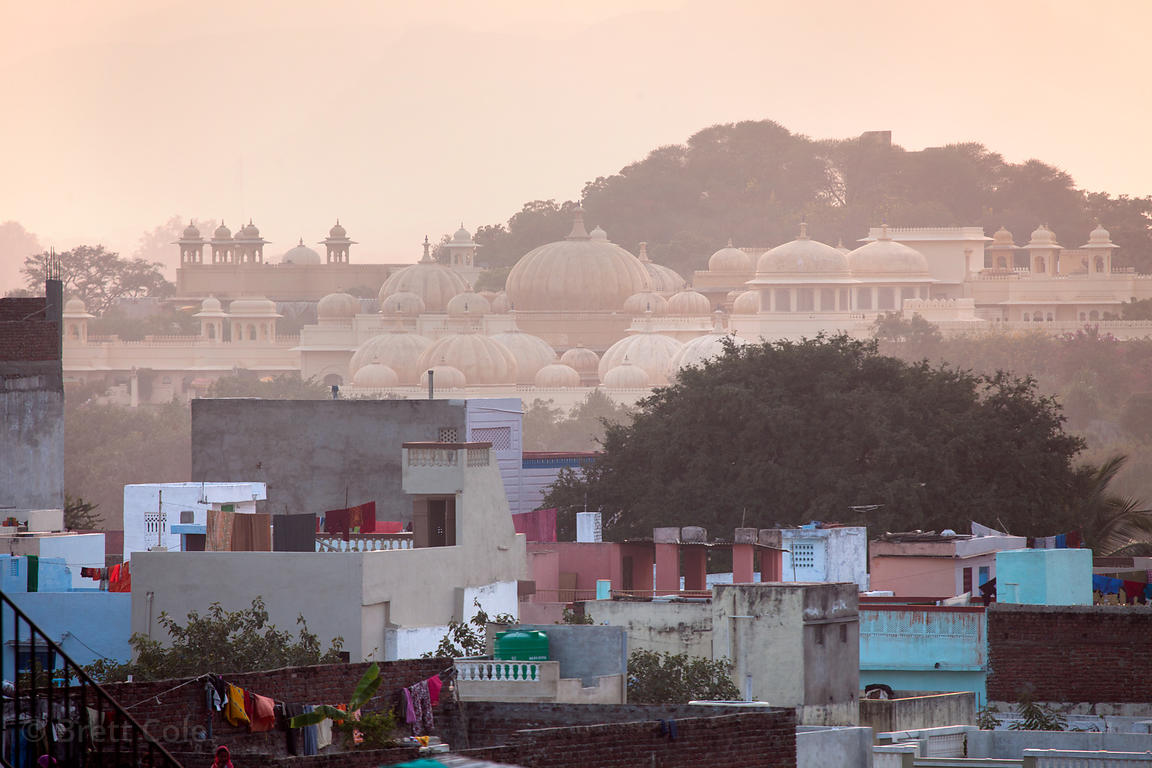 Pre-dawn light over Jodhpur, Rajasthan, India