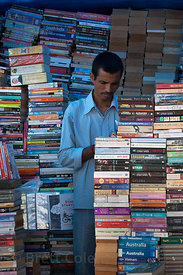 Real books are still alive and well in Mumbai, India, where internet access is available almost everywhere, but well out of r...