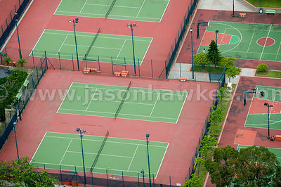 Tennis Courts, Sha Tin, Hong Kong