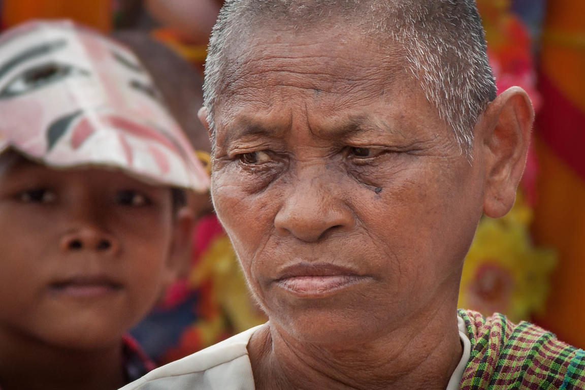 Portrait of a Woman in Siem Reap