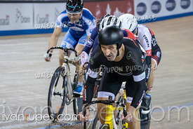 Cat 1-2 Men Keirin 7-12 Final. Track Ontario Cup #2, January 13, 2019