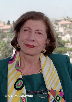 Salma Khadra Jayousi .. a Palestinian poet, writer, translator and anthologist.