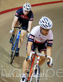 Master C/D Men Sprint 1/4 Final, Ontario Track Championships, Day 2, April 11, 2015