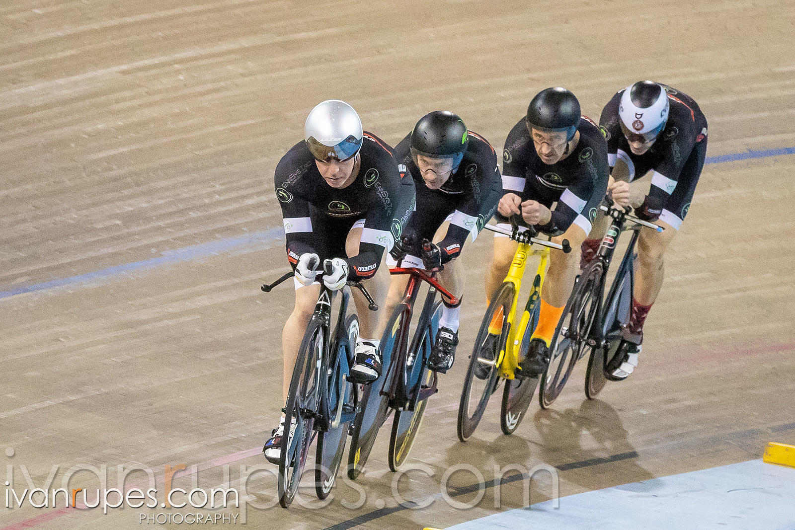 Elite/Master Men Team Pursuit. Ontario Track Championships, March 3, 2019