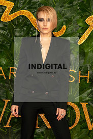 Noomi Rapace attends The Fashion Awards 2018 at The Royal Albert Hall. London, UK. 10/12/2018