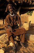 traditional hunter, Telí village, Dogon Country, Mali