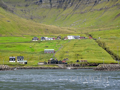 Faroes - Kalsoy - Sydradulur harbour