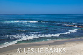 Sandy Beach in La Jolla, San Diego California