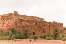 The ksar of Ait Benhaddou in Morocco