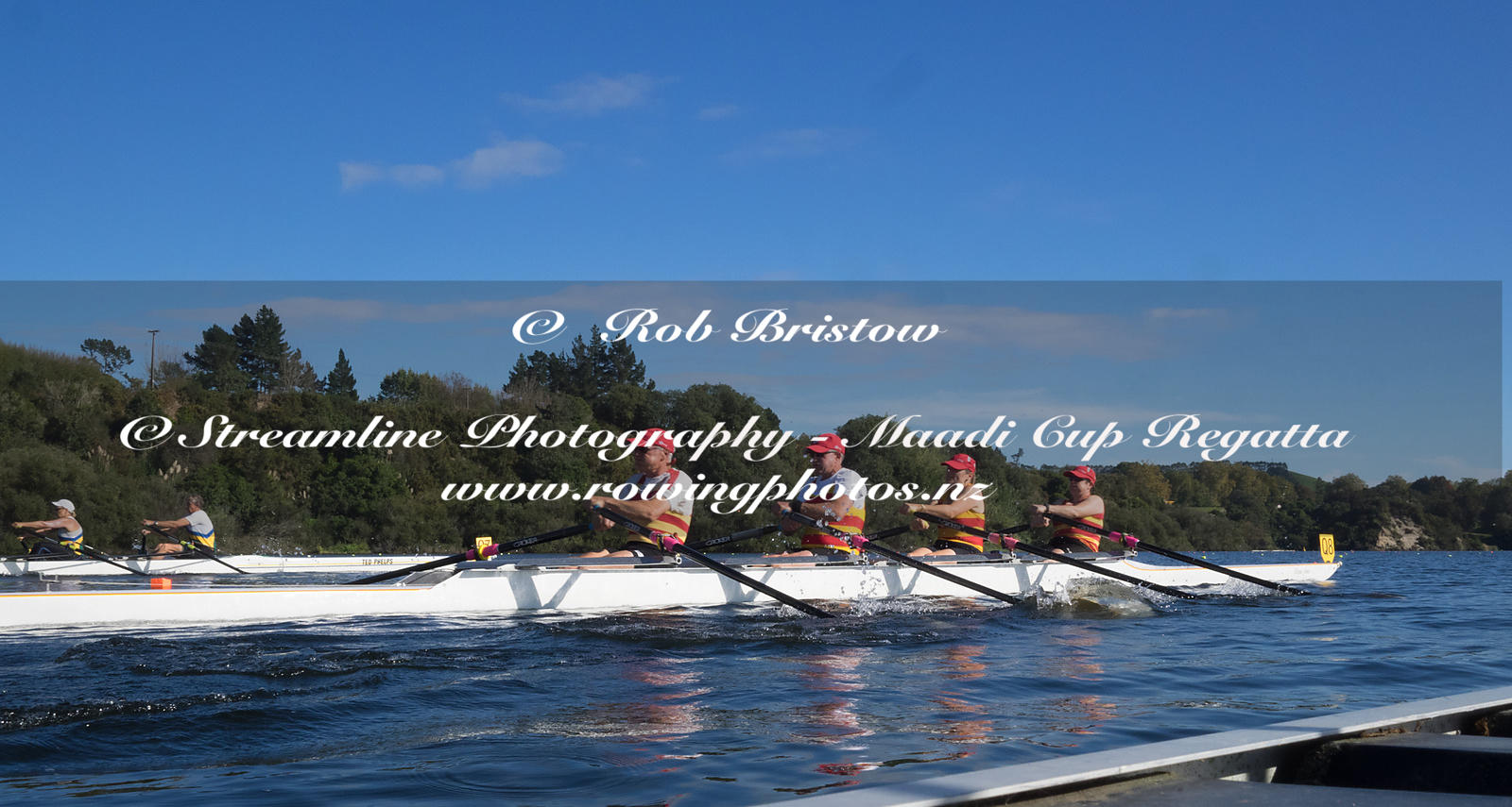 Taken during the World Masters Games - Rowing, Lake Karapiro, Cambridge, New Zealand; ©  Rob Bristow; Frame 1344 - Taken on: ...