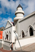 Mosque, Chiappini Street, Bo-Kaap, Cape Town, South Africa