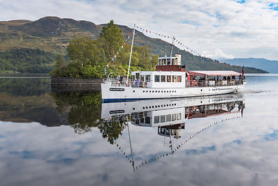 Steamship Sir Walter Scott on Loch Katrine