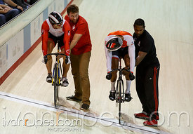 Men's sprint 1/2 finals. Milton International Challenge, January 10, 2015