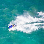 Water Jet Ski  in the Mediterranean Sea, Israel