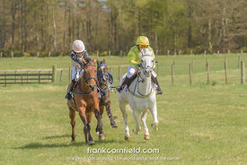 LEVEN, SCOTLAND - APRIL 28, 2018: Shay Farmer winning on Ravara Super Ted from Thomas Bradburne on Merrymint Top Cat.