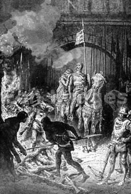 El Cid orders execution of qadi