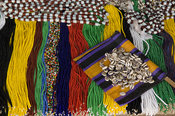 Beads for sale in the market, Ziguinchor, Casamance, Senegal