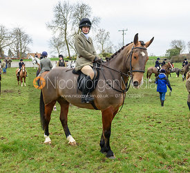 Raven Stokes At the meet at Merrivale Farm 5/1