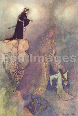 The Land of Yomi by Warwick Goble