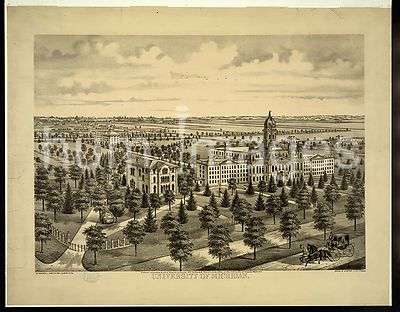 University of Michigan c 1874