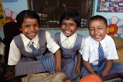 Students at a school in Varanasi, India operated by Dutch NGO Duniya (duniya.org)