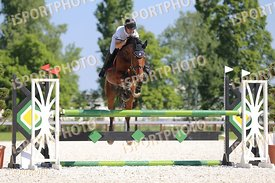 2017 May 14 - Tamási, Hungary - during National Qualifier, 5 years old cometition, 115cm . (Photo: www.isportphoto.com / Mari...
