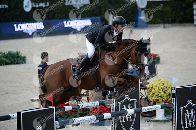 Niklaus RUTSCHI ,(SUI), WINDSOR XV during Longines Cup of the City of Barcelona competition at CSIO5* Barcelona at Real Club ...