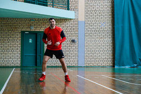 Renato Sulic during the Final Tournament - Final Four - SEHA - Gazprom league,Team training in Brest, Belarus, 08.04.2017, Ma...