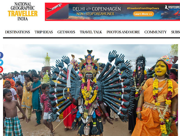 National Geographic Traveller India, Dusshera Photo Essay