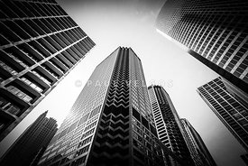 Chicago Architecture in Black and White