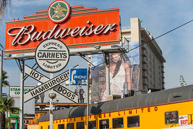 'Budweiser' Sunset Blvd 2006