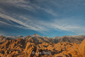Sierra Nevada Mountains and Alabama Hills