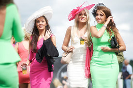 Ladies Day at Musselburgh Races
